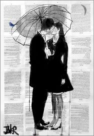 Loui Jover - A little bird, a little moon and a little love