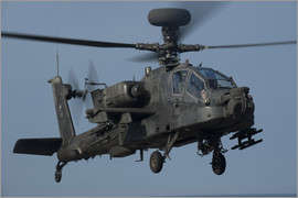 Stocktrek Images - A U.S. Army AH-64 Apache helicopter.