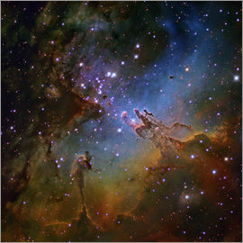 Robert Gendler - Eagle Nebula, optical image
