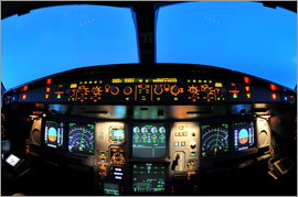 HADYPHOTO by Hady Khandani - AIRBUIS A340 COCKPIT 2