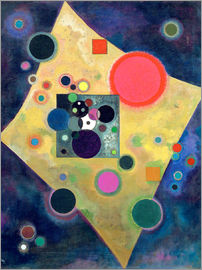 Wassily Kandinsky - Akzent in Rosa