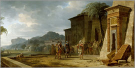 Pierre Henri de Valenciennes - Alexander at the Tomb of Cyrus the Great