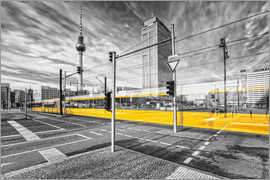 Marcus Klepper - Alexanderplatz Berlin Colorkey