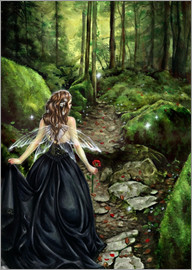 Selina Fenech - along the forest path