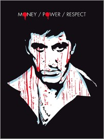 2ToastDesign - alternative scarface tony montana film art