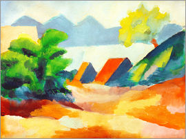 August Macke - Am Thuner See I