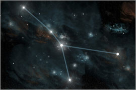 Marc Ward - An artist's depiction of the constellation Cancer.