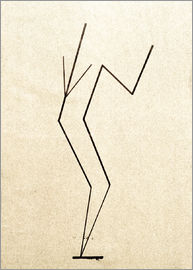 Wassily Kandinsky - Analytical drawing after photos of dancing?..