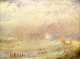 Joseph Mallord William Turner - Ansicht von Deal