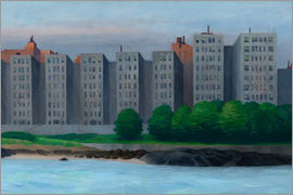 Edward Hopper - Apartmenthäuser am East River