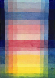 Paul Klee - Architecture of the plane