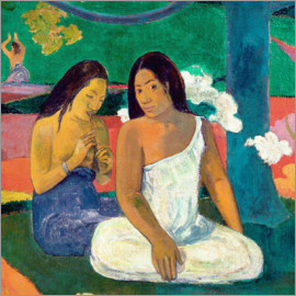 Paul Gauguin - Arearea, Detail