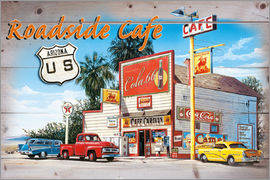 Georg Huber - Arizona Roadside Cafe