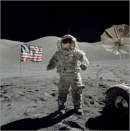 Stocktrek Images - Astronaut on the moon