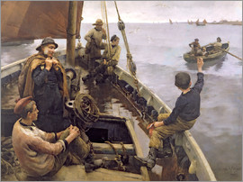 Stanhope Alexander Forbes - Off to the Fishing Ground