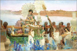 Lawrence Alma-Tadema - Auffindung Moses durch die Tochter des Pharao