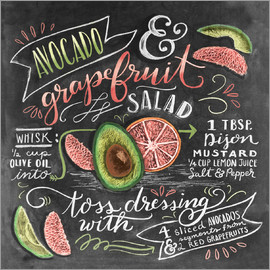 Lily & Val - Avocado Grapefruit-Salat