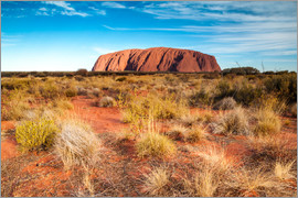 Matteo Colombo - Ayers Rock am Abend