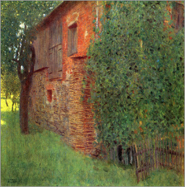 Gustav Klimt - Farmhouse