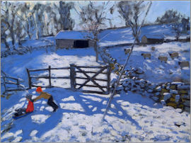 Andrew Macara - Farm at Elton, near Rowsley