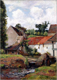 Paul Gauguin - Bauernhof in Osny