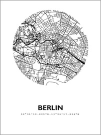 44spaces - BERLIN STADTPLAN HFR