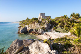 Matteo Colombo - Famous maya ruins of Tulum on the caribbean sea, Mexico