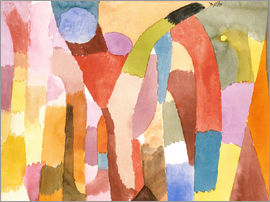 Paul Klee - Movement of the vault