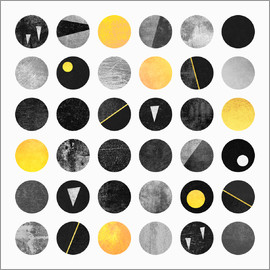 Elisabeth Fredriksson - Black and yellow dots