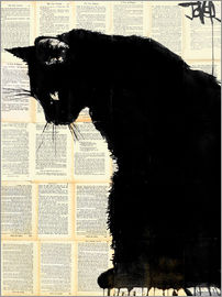 Loui Jover - Black cat