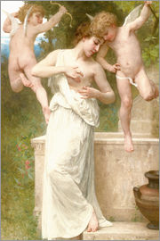 William Adolphe Bouguereau - Blessures d'amour