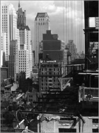 Alfred Stieglitz - From My Window at An American Place