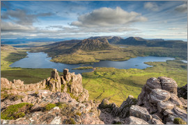 Michael Valjak - View from Stac Pollaidh in Scotland