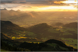 Markus Ulrich - View from Hochries Mountain in the Bavarian Alps