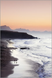 Markus Lange - View from Playa del Viejo to the Peninsula of Jandia, La Pared