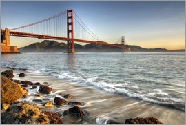 David Svilar - Blick zur Golden Gate Bridge