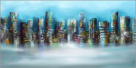 Theheartofart Gena - Blue City