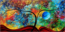 Megan Duncanson - blue moon rising