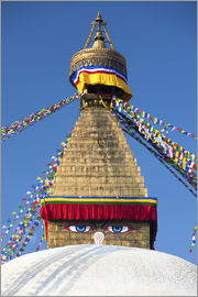Lee Frost - Bodhnath Stupa (Boudhanth) (Boudha), one of the holiest Buddhist sites in Kathmandu, UNESCO World He