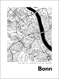 44spaces - Bonn Stadtplan HF 44spaces