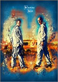 HDMI2K - Breaking Bad - Walter White Serien Show Alternative