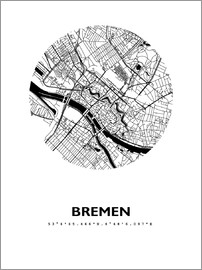 44spaces - BREMEN STADTPLAN HFR