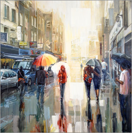 Johnny Morant - Brick Lane im Regen