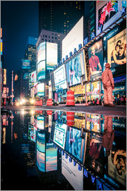 Sascha Kilmer - Broadway - Times Square - NEW YORK CITY