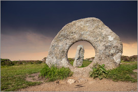Christian Müringer - Bronzezeit Monument Men-an-Tol in Cornwall (England)