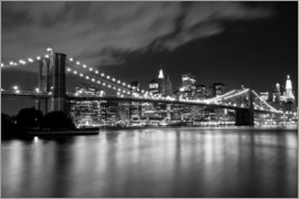 Brooklyn Bridge - Nachtszene