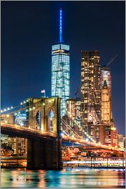 newfrontiers photography - Brooklyn Bridge und World Trade Center