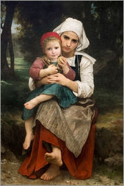 William Adolphe Bouguereau - Bruder und Schwester