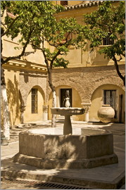 Guy Thouvenin - Brunnen in Sevilla