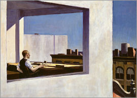 Edward Hopper - Office in a small city